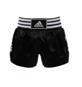 Adidas Thai Boxing Shorts - Black/White