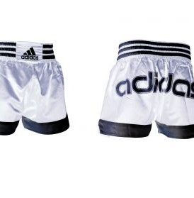 Adidas Thai Shorts - White / Adidas Print