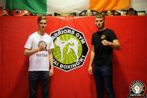 Cian Cowley - Alastair Magee - Warriors - FightstorePRO Ireland
