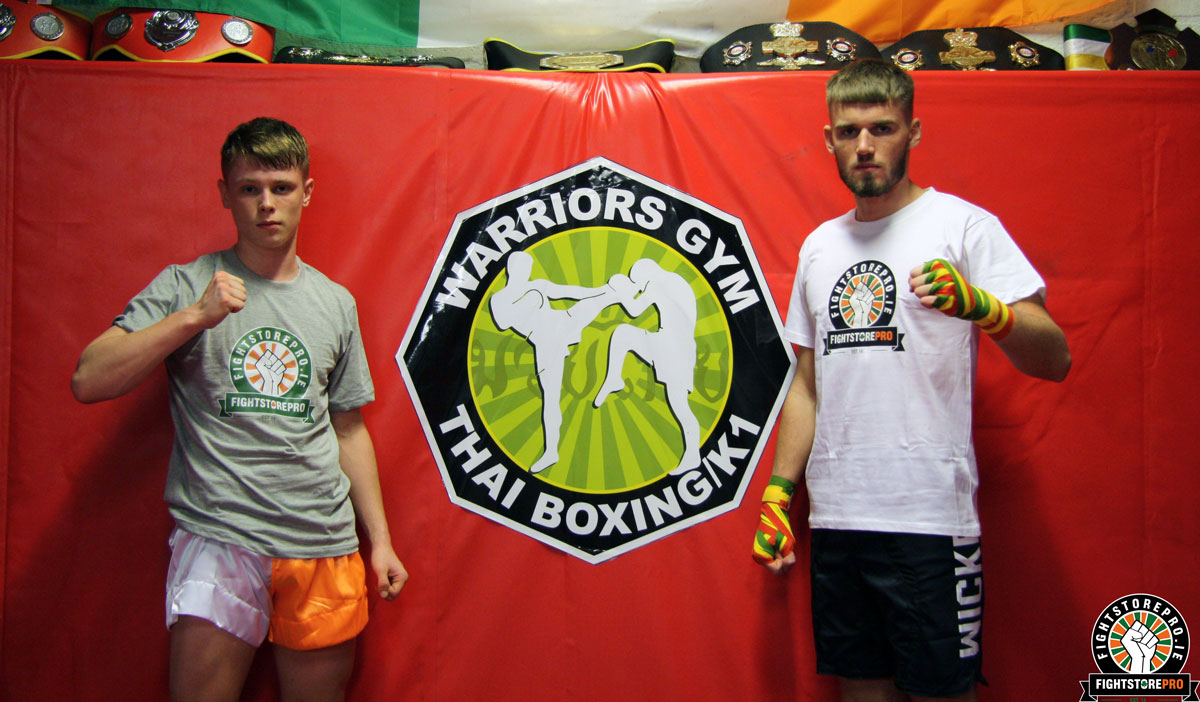 Warriros Gym Dublin - Cian Cowley - Daryl Flood - FightstorePROi