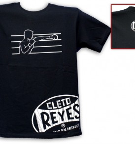 Cleto Reyes Boxer T-Shirt - Black