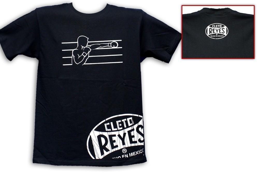 Cleto Reyes Printed Fighter Logo T-Shirt Black