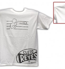 Cleto Reyes Boxer T-Shirt - White