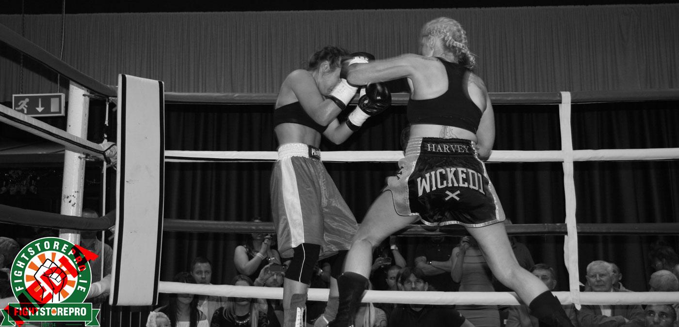 Lynn Harvey demolishes opponent on special night in her career