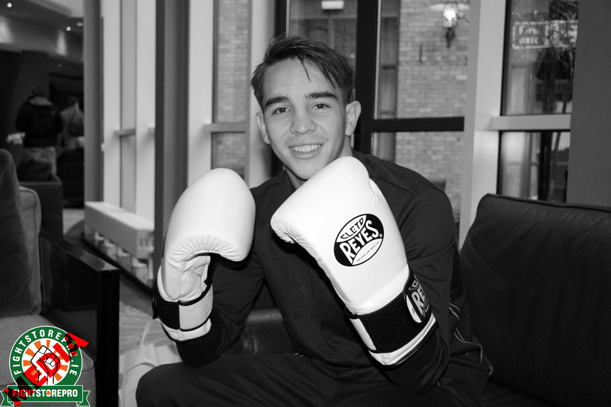 Michael Conlan tells Fightstore Media 'My main goal is to headline Croke Park'