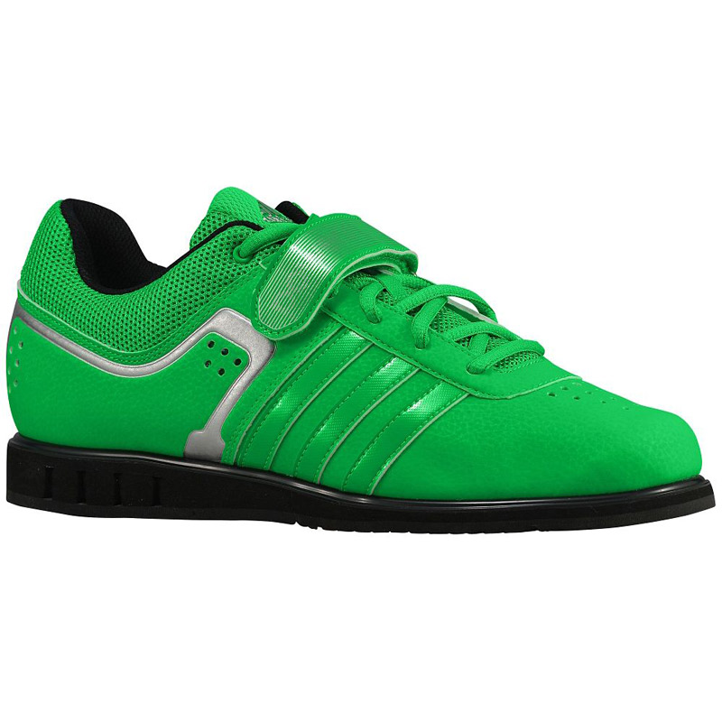 Adidas Powerlift 2 Metallic Flash Lime / Silver Metallic 2 / CORE negro lucha 2e4feb