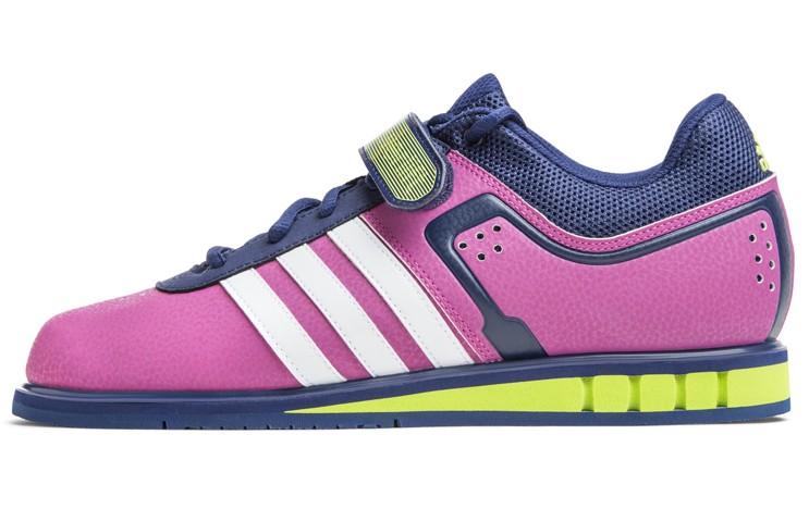 Adidas powerlift 2 flash / bianco / rosa giallo solare lotta negozio