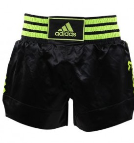 Adidas Thai Boxing Shorts - Black/Green