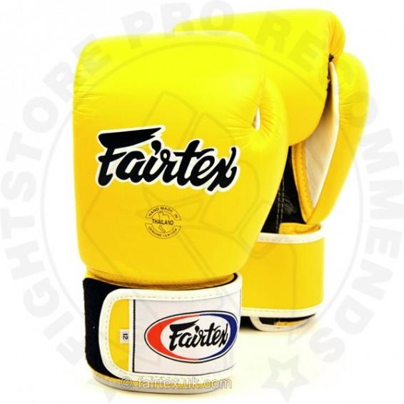 Fairtex BGV1 Boxing Gloves Yellow