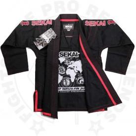 Fuji Sports Sekai BJJ Gi - Black