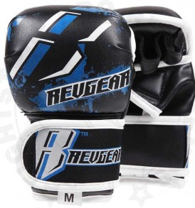 Revgear Blue Kids MMA Gloves