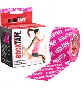 RockTape Pink Logo 5cm width - 5m length
