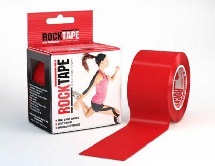 RockTape Red 5cm width - 5m length