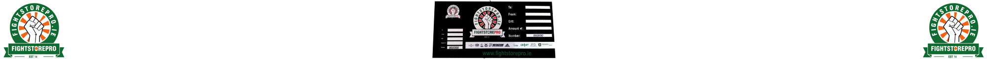 Gift Vouchers - Fightstore Ireland