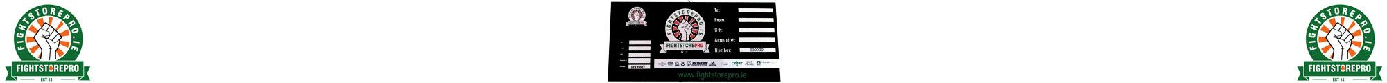 Gift Vouchers - Fightstore Ireland