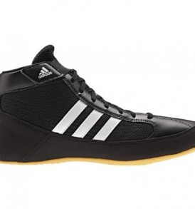 Adidas Havoc Adult Wrestling Shoes - Black/White