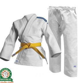Adidas Kids Club Judo Uniform - White