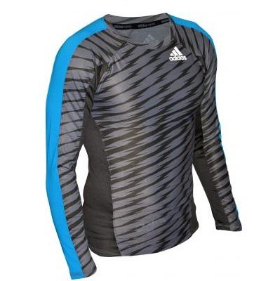 Adidas Long Sleeve Mma Rashguard Grey Fight Store Ireland