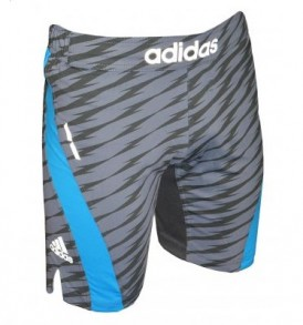Adidas Patterned Grey MMA Shorts