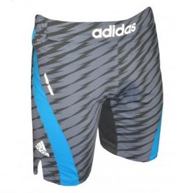 Adidas Patterned Grey MMA Shorts