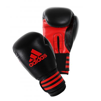 Adidas Power 100 Boxing Gloves - Black/Red
