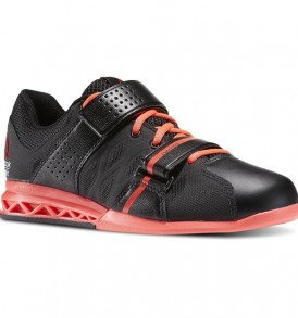Reebok Women CrossFit Lifter Plus 2.0 - Black / Neon Cherry