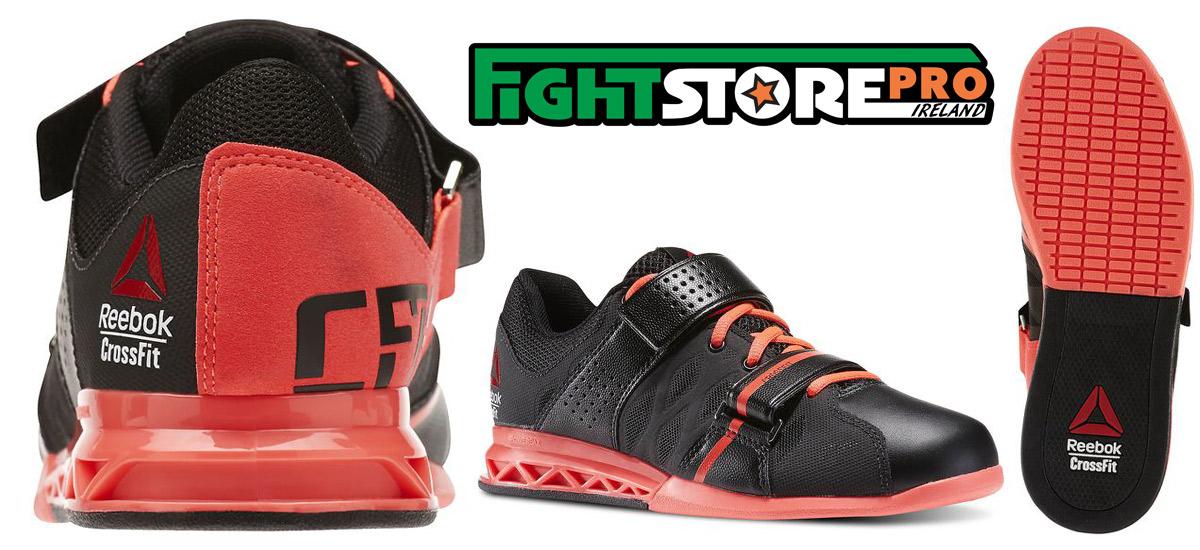 Reebok Women CrossFit Lifter Plus 2.0 - Black   Neon Cherry - Fight Store  IRELAND bcb32c8ca