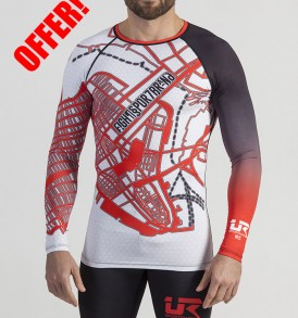 Urban Resilience Cityplan Long Sleeve Rashguard and Shorts - NY