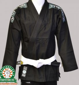 Valor Bravura BJJ Gi - Black with Free White Belt