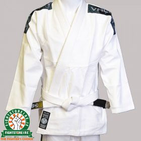 Valor Bravura BJJ Gi - White with Free White Belt