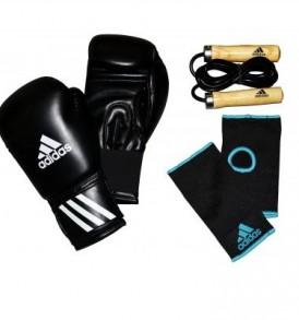 Adidas Men's Boxing Set - Black