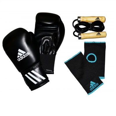 Adidas Men's Boxing Set - Black