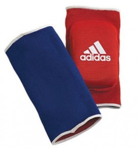Adidas Reversible Elbow Pads - Blue/Red