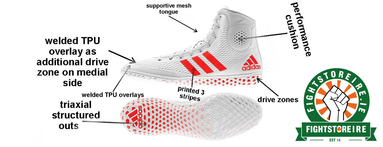 Adidas Tech Fall 16 Rio Wrestling Shoes Limited Edition | Fight Store IRELAND