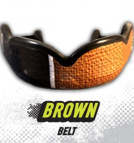 DC Mouthguards Brown Belt High Impact