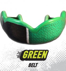 DC Mouthguards Green Belt High Impact