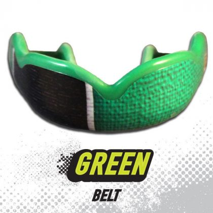 DC Mouthguards Green Belt High Impact