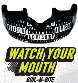 DC Mouthguards Watch Your Mouth High Impact