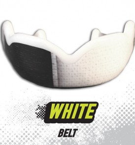 DC Mouthguards White Belt High Impact