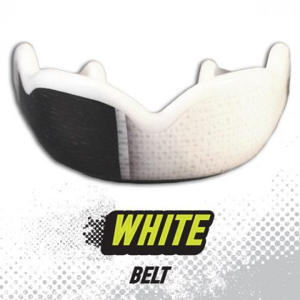 DC Mouthguards White Belt High Impact