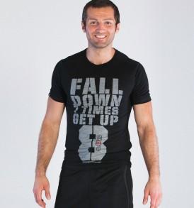 Grips Get Up T-Shirt - Black