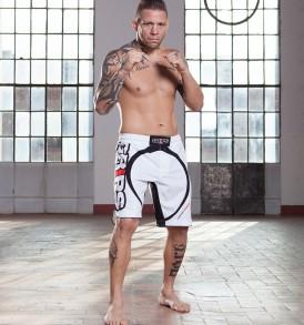 Grips Miura Evo Fight Shorts - White