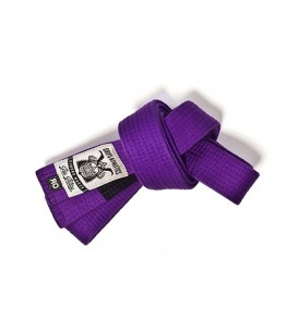 Grips Purple BJJ Belt
