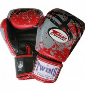 Twins Special Splatter Fantasy Gloves - Red