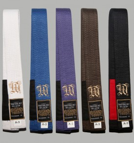 Wicked One BJJ Belts - A3