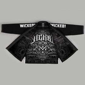 Wicked One Motion BJJ Gi - Black