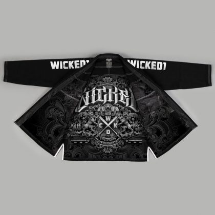 Wicked One Motion BJJ Gi - Black