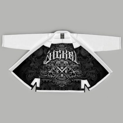 Wicked One Motion BJJ Gi - White