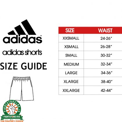 Adidas Camo Boxing Shorts - Black/Orange