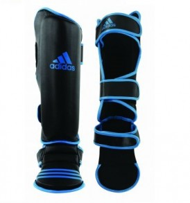 Adidas Heavy Duty Shin Guards - Blue